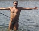 ...РЫБА вот С таким ГЛАЗОМ !!! :)))) Барабой, Одесская обл. (4 сентября 2005 г.)