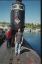 На подводной лодке...