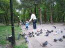 в  парке гуляем