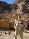 Тот же Синайски п-ов. Монастырь Святой Екатерины. Красиво. 01.2005