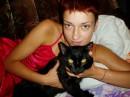 Ведьмочка Геллочка и Бегемот (кота в самом деле так величают!)