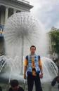 Это я в Киеве на финале кубка Украины по футболу