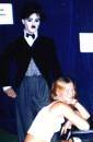 С восковым Чаплином