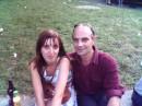 Я и моя сестра в День Незвисимости недалеко от Арки Любви