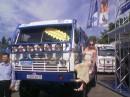 А ента машинка выиграла гонки Париж Докар - 2004, можно погордится, еле удалось на неё вскарапкаться