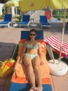 это я на пляже.