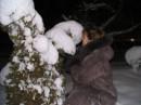 пушистые лапки елочки :)))