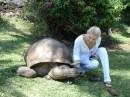 с черепахой