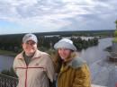 озеро Селигер,на колокольне,и чему тут удивляться,ей все равно что скажут)))