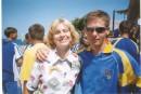 Я с Чемпионкой Украины...