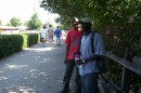 This is Taize- France me and my Friend Leonard from Burundi!