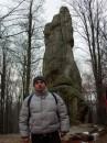 Скалы Довбуша,  (Карпаты, декабрь 2005)