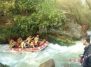 Rafting is adrenalin