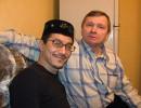 В гостях у татарской семьи. Я и Фарит.