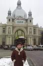 тут я встречала Новий рік...то бишь не на Львовкском вокзале конечно, а в городе Львове :)