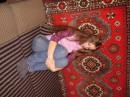 большой диван..............и я на нём ОДНА