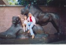 Лето 2005.киевский зоопарк.Люблю кошек,но только у кого-то дома)