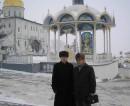 В командировке в Тернополе. Почаевская Лавра. 01.2006