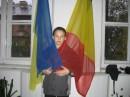 Flag Rumunii i Ucraina MENEA ZAVUT CRYSTY