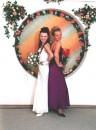 Я и Аня на моей свадьбе
