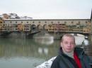 Забавный мост во Флоренции