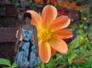 я и цветочек