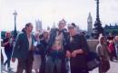 Я и прикольный чел, Лондон, 2003г.