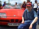 Тюнинг-шоу 2004,я и довольно редкий BMW Z1.