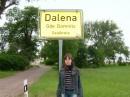 в Германии,у сестры