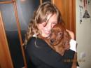 Я и моя собака! Псинку зовут Алан!!! И это Ирландский Сеттер