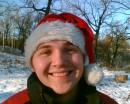 Это на Рождество мы с друзьями жарили шашлыки на снегу...