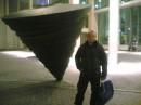 я возле концерт хола во Фрайбурге