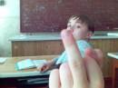 На уроке английского!!!
