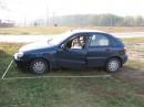 Как истинная женщина за рулем, учусь парковаться в чистом поле ;)
