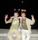 Два брата-акробата :) Ээ-эх, летнее безумие в Алуште!
