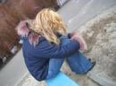 моя подружка...грусть