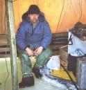 ...после того как все по разу провалились в лед, водолазы нам выдали по комплекту десантных непромокаемых костюмов !!! Белгород-Днестровский лиман, Одесская обл. (январь 2006г.)