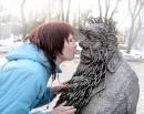 в киевском зоопарке.... :))