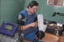 ...а это часть моей работы !!! :)))) Белгород-Днестровский лиман, Одесская обл. (17 февраля 2006г.)