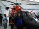 вертолёт.спасательный. US Coast Guard Station/ Atlantic City.