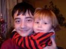Мой сынуля Володя и кресница Аминочка