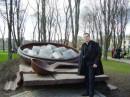 Полтава. Памятник галушкам.
