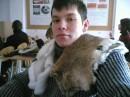 На паре кроликам