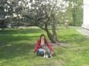 я и Маняша спустя год)))