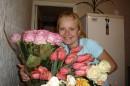 охапка цветов после работы!!!
