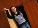 Шо я робила в шафі?))))