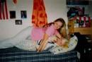 Это я и моя сестричка(мы просто дурачимся)