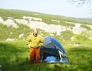 Утро на плато Тепе-Кермен (сорри за низкое качество – снималось на автоспуске)