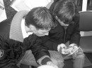 Мы с братанчиком после работы отдыхаем и просматриваем результаты работы)))