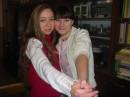 Я и Юлька:)
